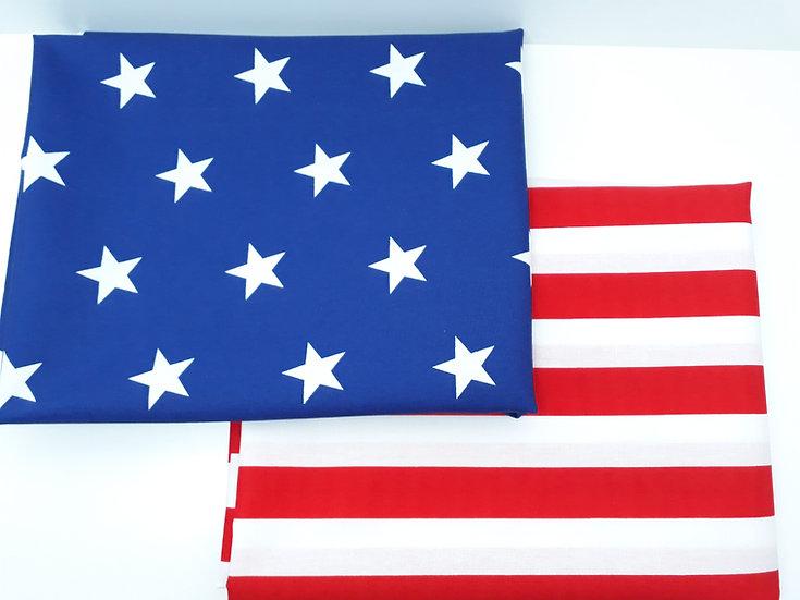 stoffpakke Amerika