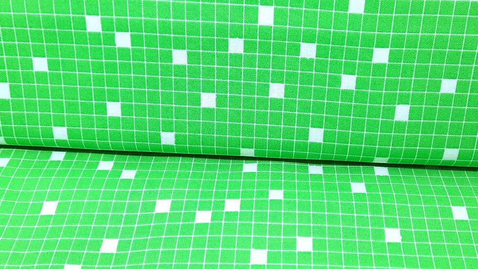 Wordplay Sarah Fielke, kryssord ruter grønn/hvit, 0,5 m