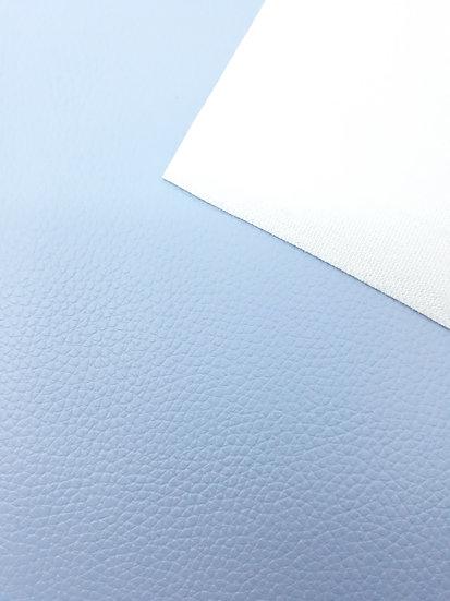 imitert lær/ kunstskinn lyseblå, 50 cm x 1,40 m