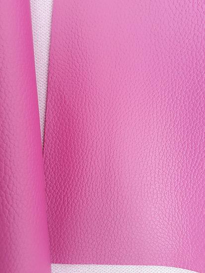 imitert lær/ kunstskinn pink, 50 cm x 1,40 m