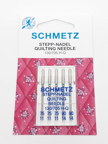 Schmetz quilting symaskinnål, 5 stk