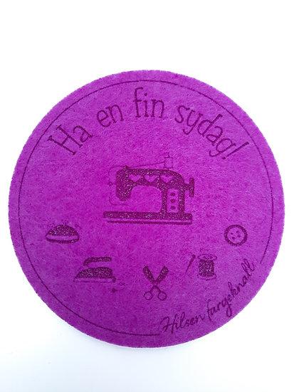 filt brikke til glass og kaffeekopp, violett