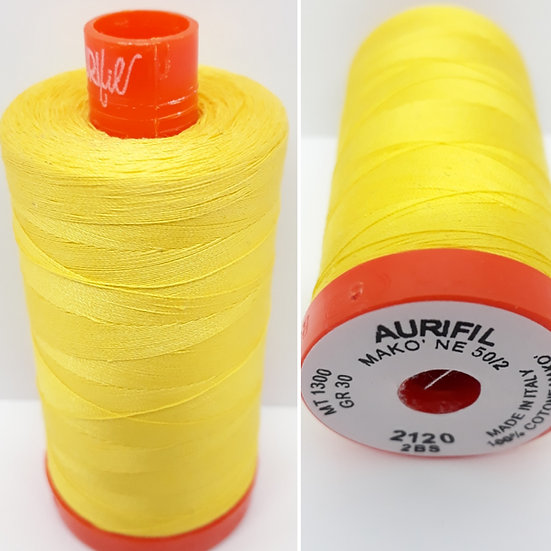 Aurifil 2120 bomullstråd 50wt, 1.300m
