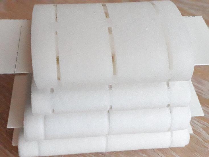 strykeinnlegg med brettekant, 3m