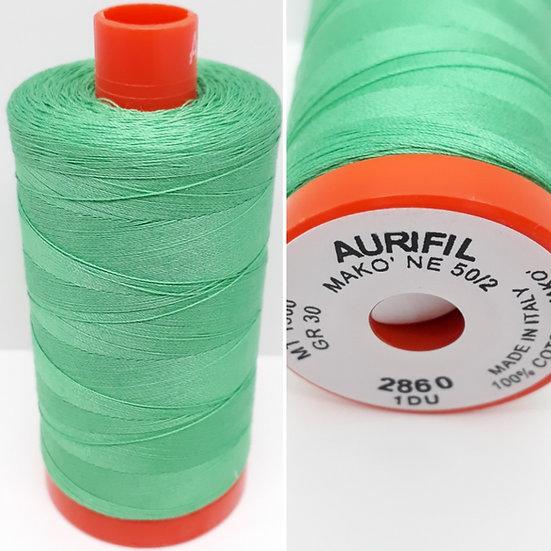 Aurifil 2860 bomullstråd 50wt, 1.300m