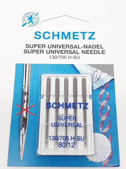 Schmetz super universal symaskinnål, 5 stk