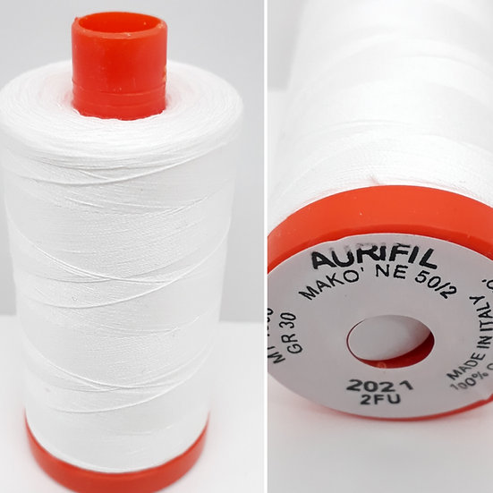 Aurifil 2021 bomullstråd 50wt, 1.300m