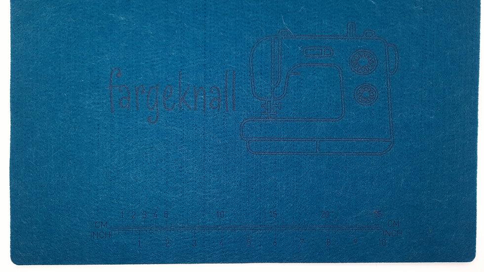symaskin filtunderlag, 32 x 44 cm, petrol
