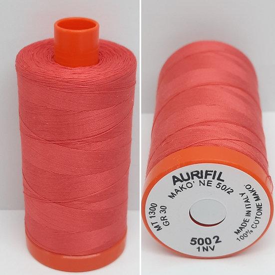 Aurifil 5002 bomullstråd 50wt, 1.300m