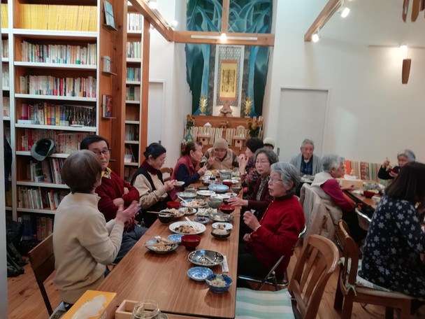 新春コリーナシップ昼食会開催