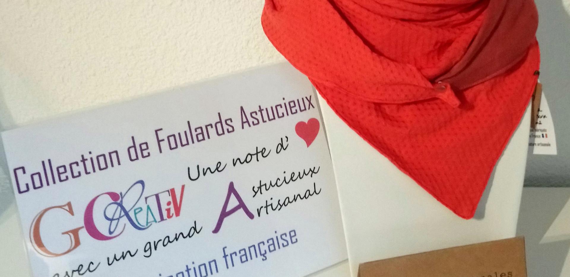 Foulard Astucieux Gcreativ Flamme