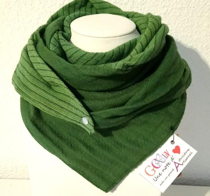 Foulard astucieux Gcreativ Modèle Green