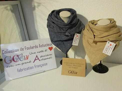 Foulards Astucieux Gcreativ Stella
