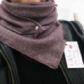 foulard astucieux stella bordeaux