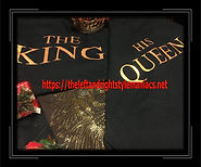The back side of king and queen tees 201