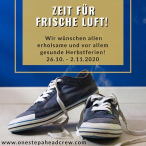 ZEIT FÜR FRISCHE LUFT - HERBSTFERIEN