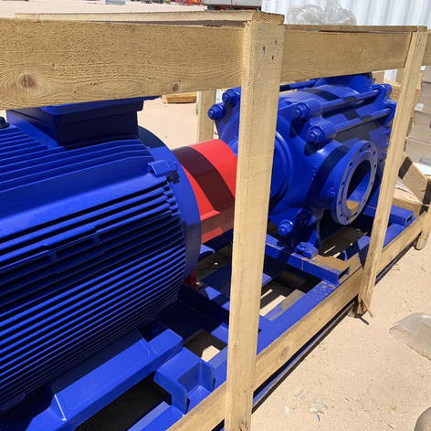 Pump shipment from Turkey to Basra