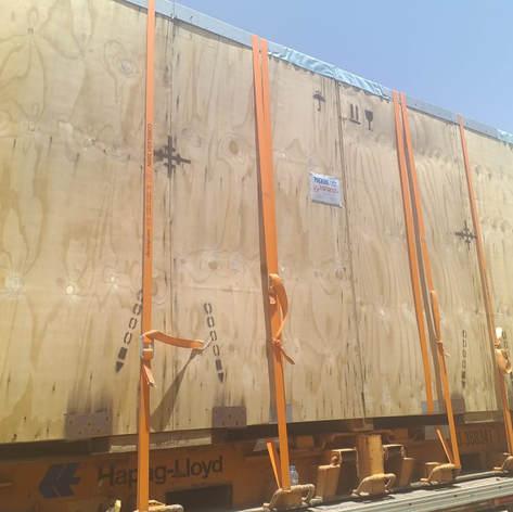 Transformers shipment to Basra