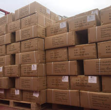 FR Coverall Shipments from China to Basra Airport