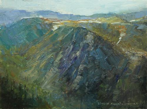 Beartooth Pass 6 x 8 oil