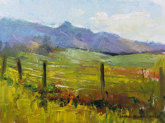 Spring Pasture 6 x 8 oil