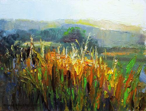 TalI Grasses  6 x 8 oil