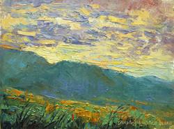 Big Sky Morning 6 x 8 oil