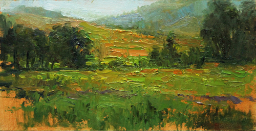 Peace in the Valley 4 x 8 oil