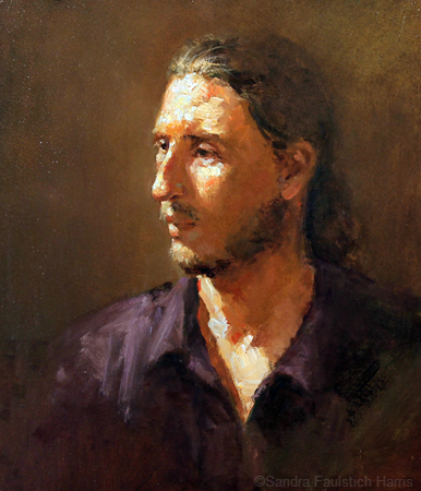 Study of Young Man