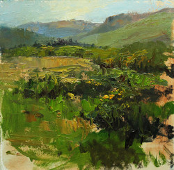 High Country Meadow 8 x 8 oil