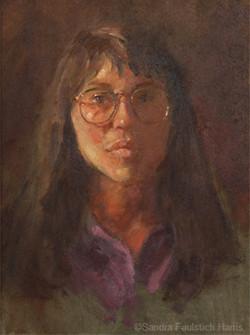 Self-portrait at 35