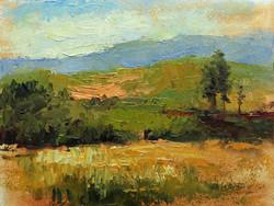 Bighorn View 6 x 8 oil