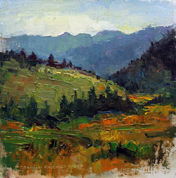 Big Sky Country 8 x 8 oil