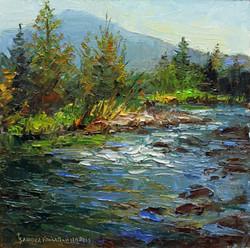 Rock Creek 8 x 8 oil