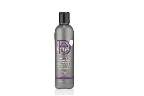 DESIGN ESSENTIALS Honey Creme  Moisture Retention Ultra Detangling Shampoo