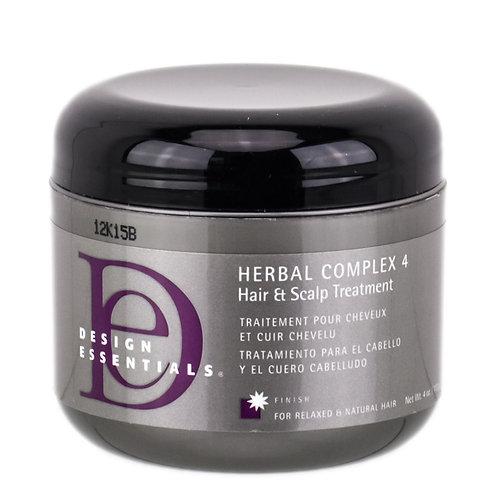 Design Essentials Herbal Complex 4 Hair + Scalp Conditioning Treatment