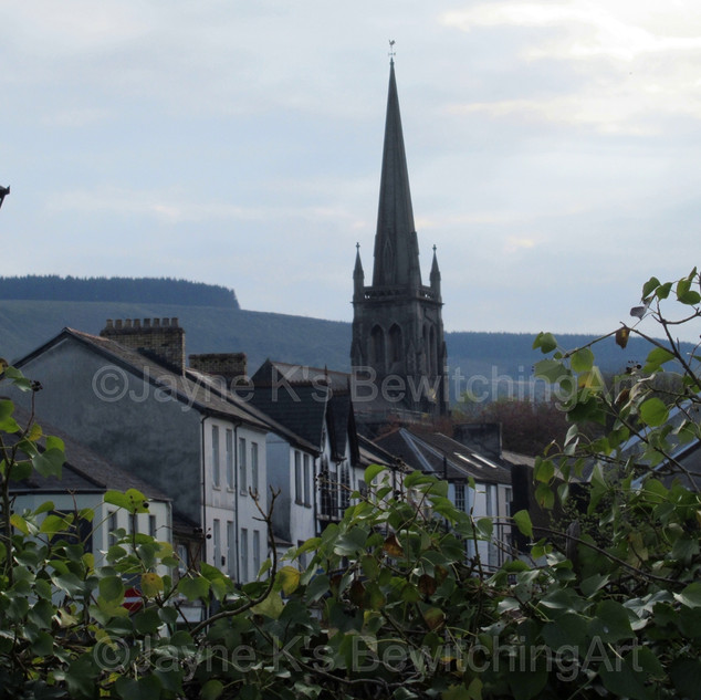 Commercial Street, Aberdare.