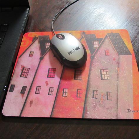 Higgledy-Piggledy Street Mouse Mat