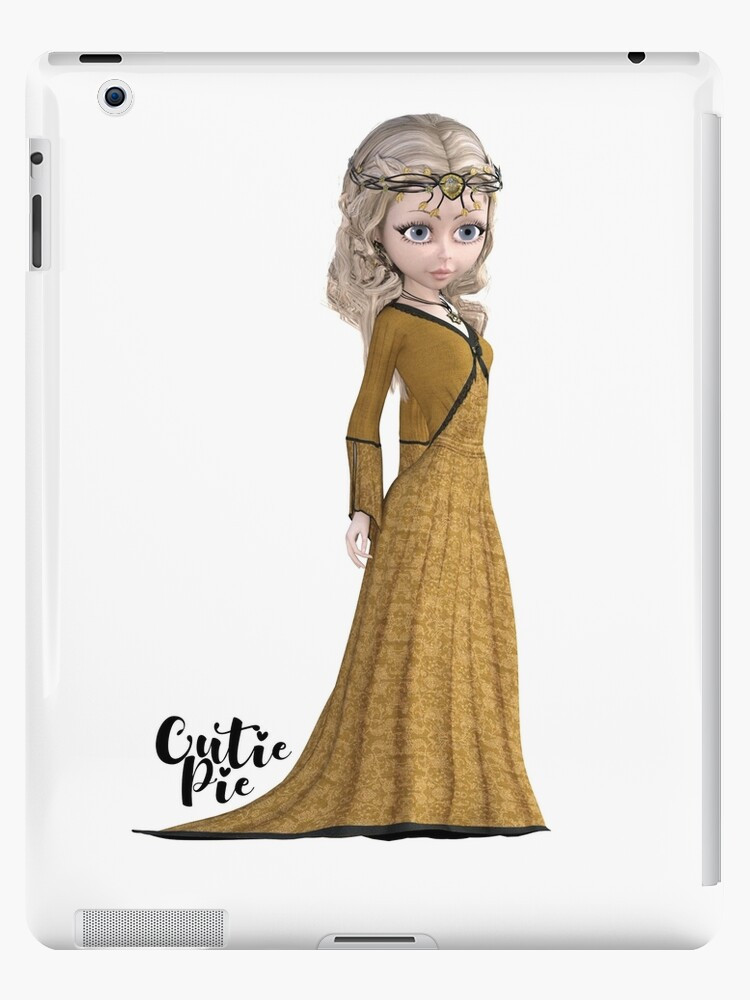 CutiePie Medieval ipad snap case