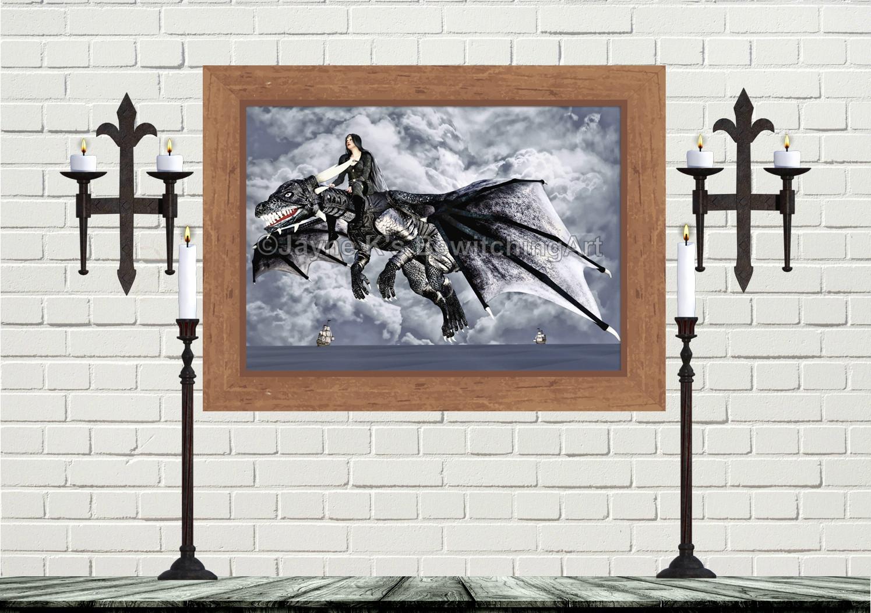 Gothic Dragon - Sea Flight