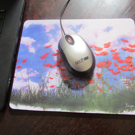 Poppy Field Mouse Mat