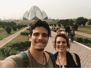   Templo de Lotus - Nova Delhi, Índia  #convidadanomapa