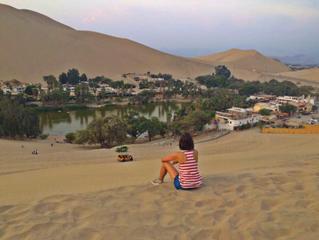   Huacachina - Ica, Peru   #convidadanomapa