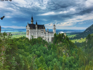   Castelo de Neuschwanstein - Alemanha  
