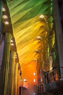 Colorful La Sagrada Familia