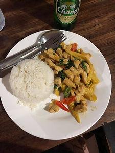 Panang Curry at Yang