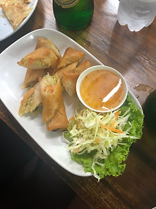Chiang Mai spring rolls