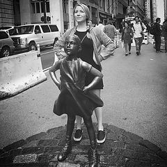 Statue of the Fearless Girl