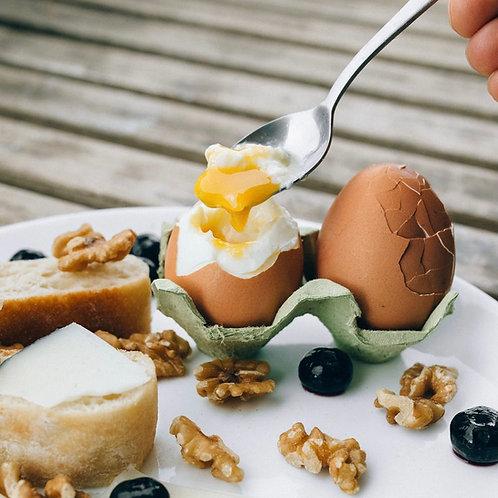 Organic and free range eggs