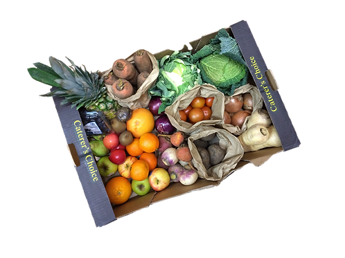Large fruit and veg box for pick-up